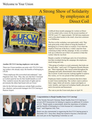 Page 7 of Strong Show of Solidarity brings new Members to the Union