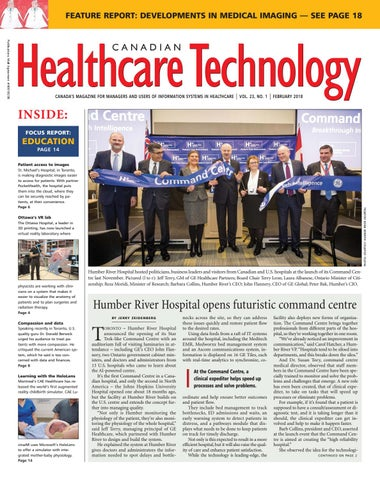 Canadian Healthcare Technology - Feb  2018 by Canadian