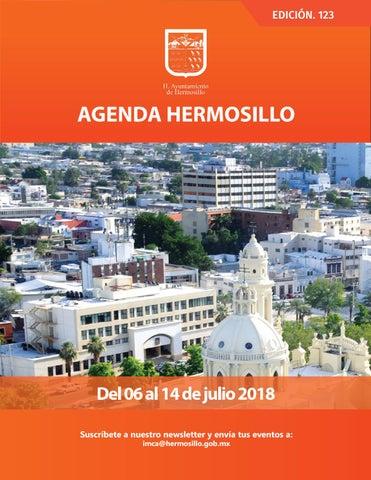 """Cover of """"Agenda Hermosillo 123"""""""