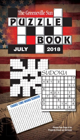 Puzzle Book 1806 July 2018 By The Greeneville Sun Issuu