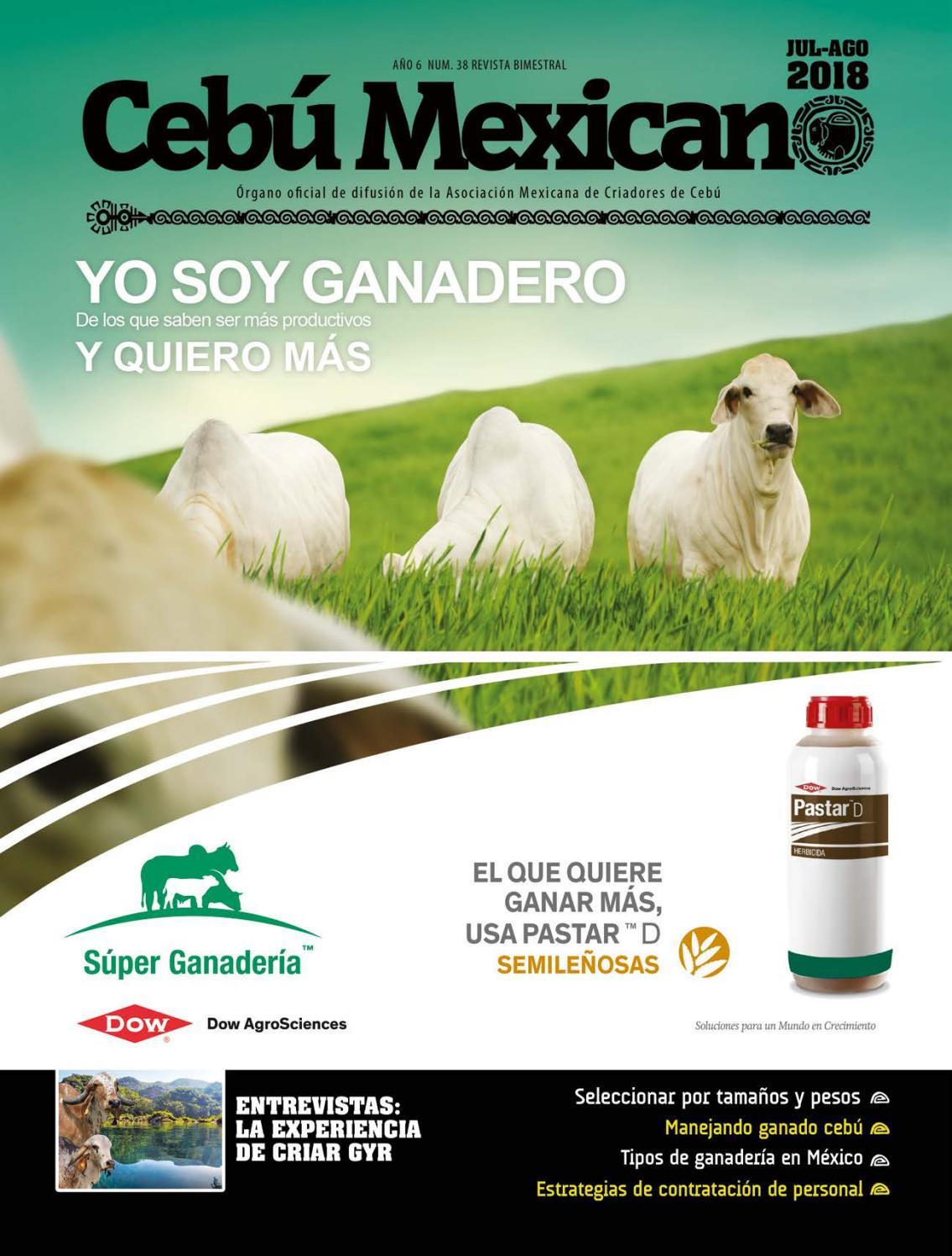 Revista AMCC Julio-Agosto 2018 by Asociación Mexicana Criadores de ...