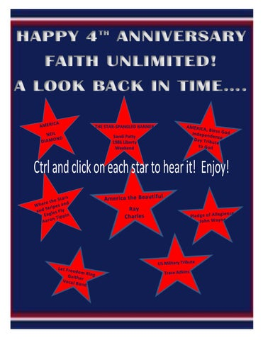 Page 15 of HAPPY 4th ANNIVERSARY FAITH UNLIMITED!