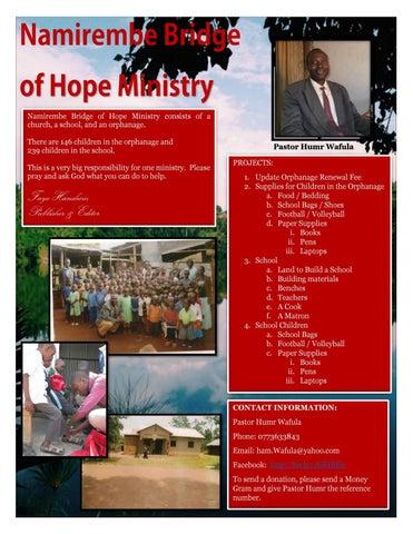 Page 19 of Namirembe Bridge of Hope Ministry