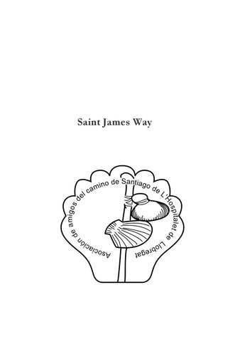 Saint James Guide From Barcelona By Asociacion De Amigos Del Camino