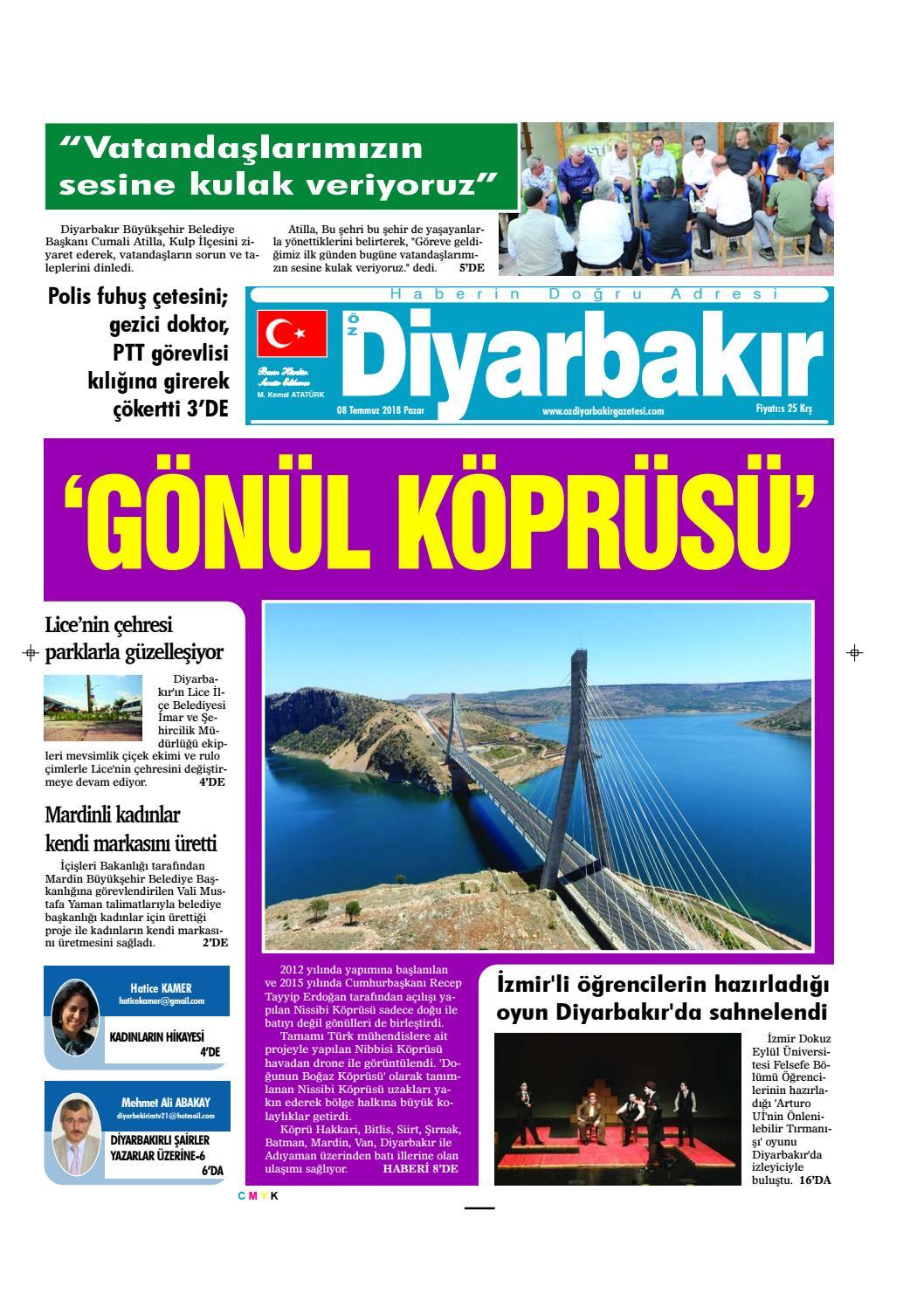 Oz Diyarbak R By Ozdiyarbakirgazetesi Issuu
