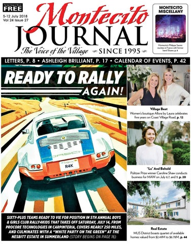 Ready To Rally Again By Montecito Journal Issuu