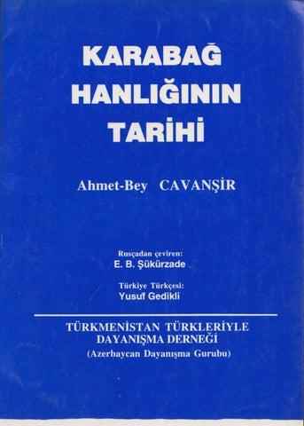 Karabag - Sanli Tarihi Aci Talihi