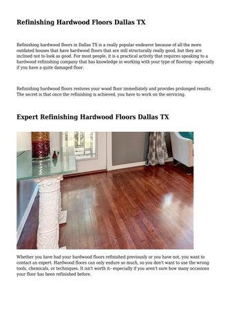 Refinishing Hardwood Floors Dallas Tx By Hardwood Flooring Pros Fort