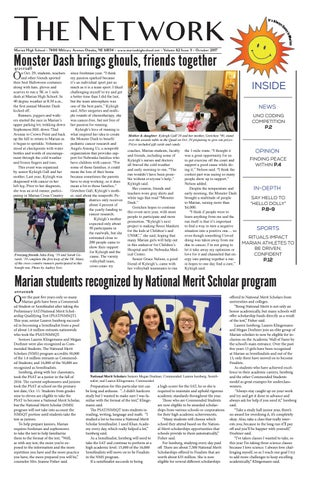 0b13ad0c06a Omaha Marian High School s Oct 2017 Network Student Newspaper by ...
