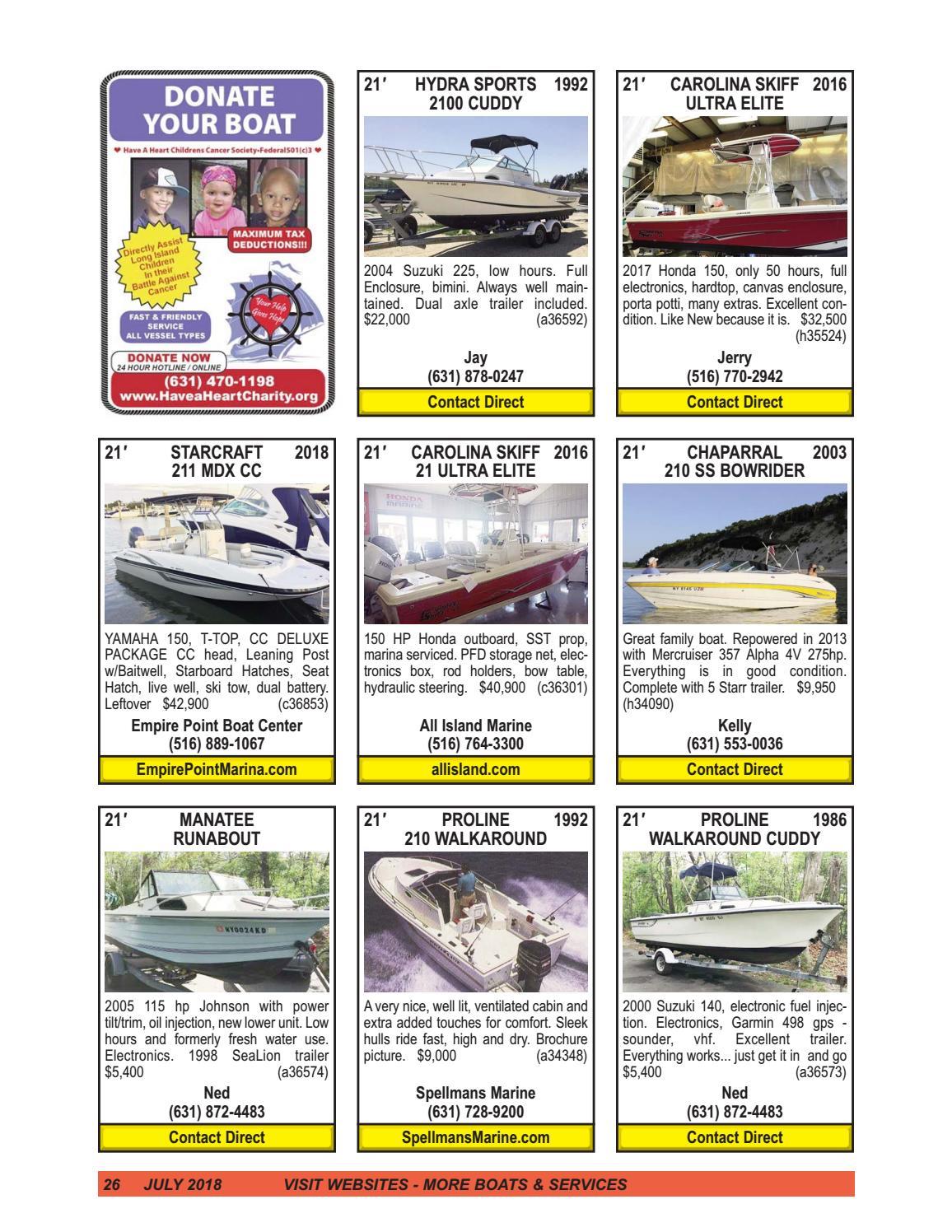 July 2018 issuu by Boats4Sale com Media - issuu