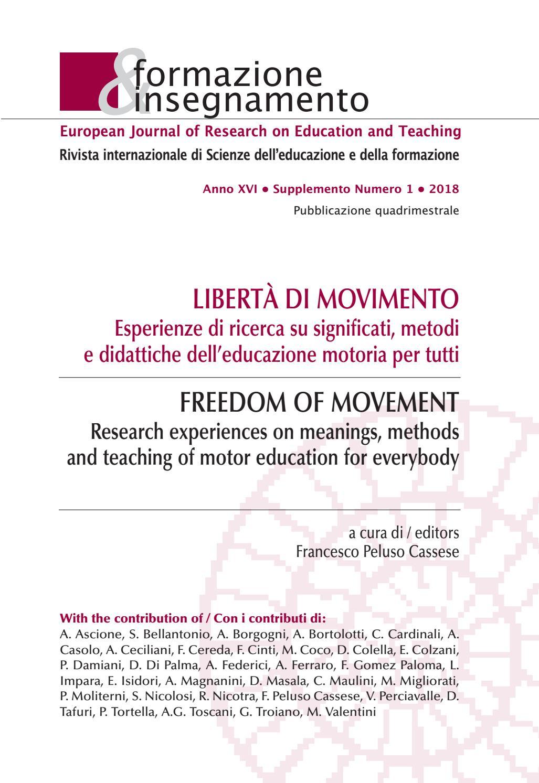 Formazione Insegnamento 1 2018 Supplemento By Pensa Multimedia Issuu