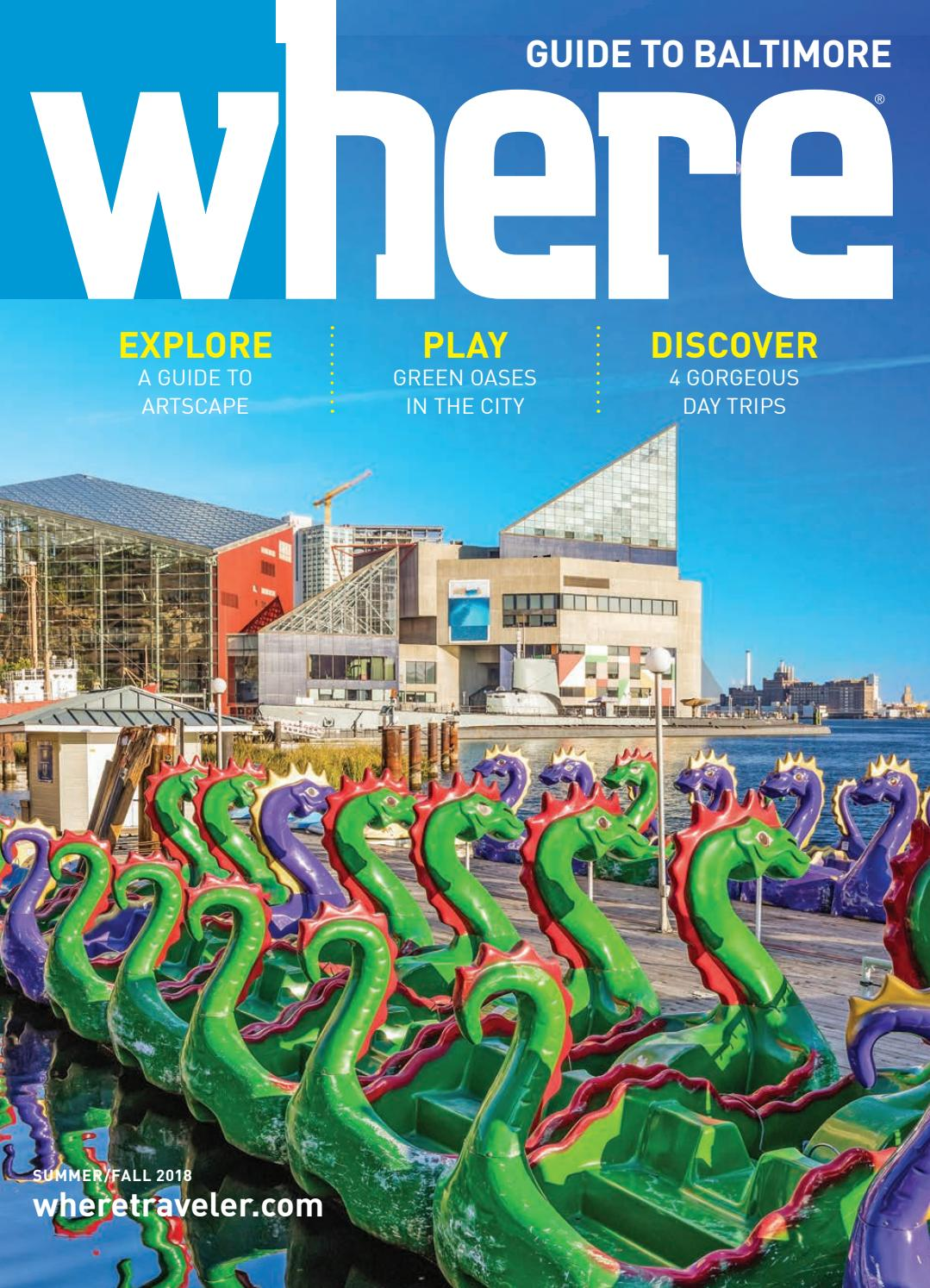 Where Magazine Baltimore July 2018 by Morris Media Network - issuu 71a36661bf864