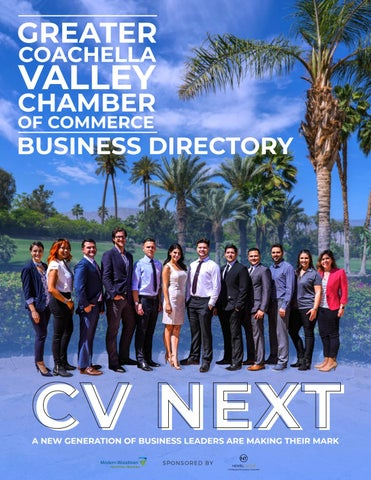 Greater Coachella Valley Chamber Of Commerce Business