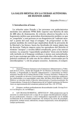 Page 129 of La salud mental en la Ciudad Autónoma de Buenos Aires - Alejandra Petrella