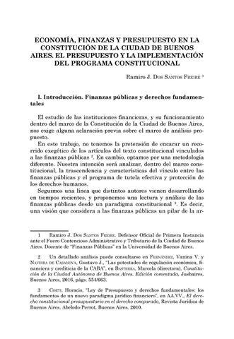 Page 201 of Economía, finanzas y presupuesto en la Constitución de la Ciudad de Buenos Aires. El presupuesto y la implementación del programa constitucional - Ramiro J. Dos santos Freire