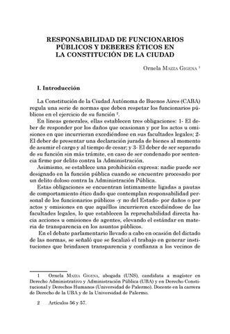 Page 223 of Responsabilidad de funcionarios públicos y deberes éticos en la Constitución de la Ciudad - Ornela Mazza Gigena