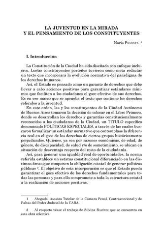 Page 99 of La juventud en la mirada y el pensamiento de los constituyentes - Noris Pignata