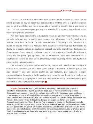 Page 23 of Ventana, por Regina Freyman - Cuentos