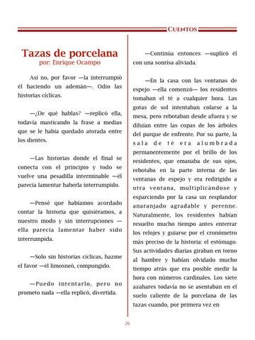 Page 27 of Tazas de porcelana, por Enrique Ocampo - Cuentos