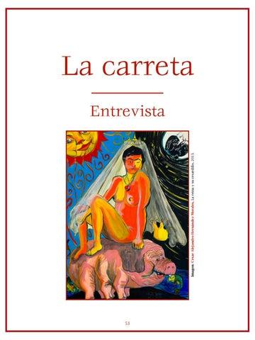Page 54 of Desde Roma, com ambición: Entrevista a Bertha Balestra por Brian Mendoza - Entrevista