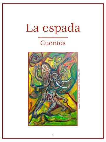 Page 6 of Elemental, por Adrián Alcántara - Cuentos