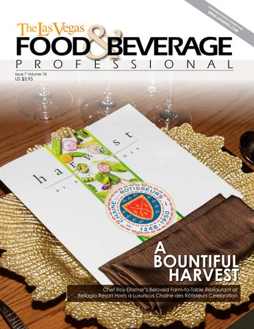 July 2018 The Las Vegas Food Beverage Professional By The Las