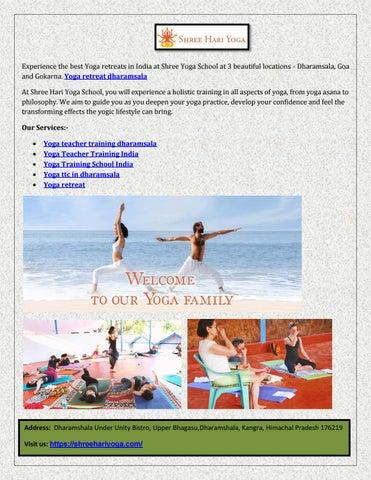 Yoga retreat dharamsala by Locos Semina - issuu