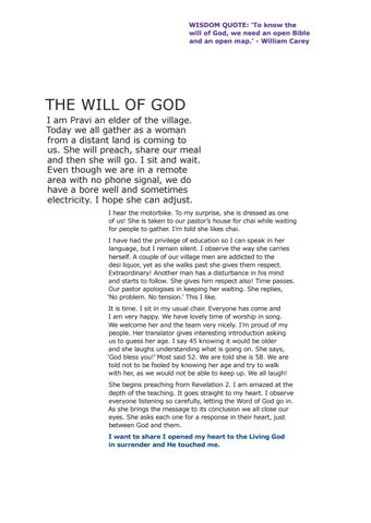 Page 14 of The Will of God
