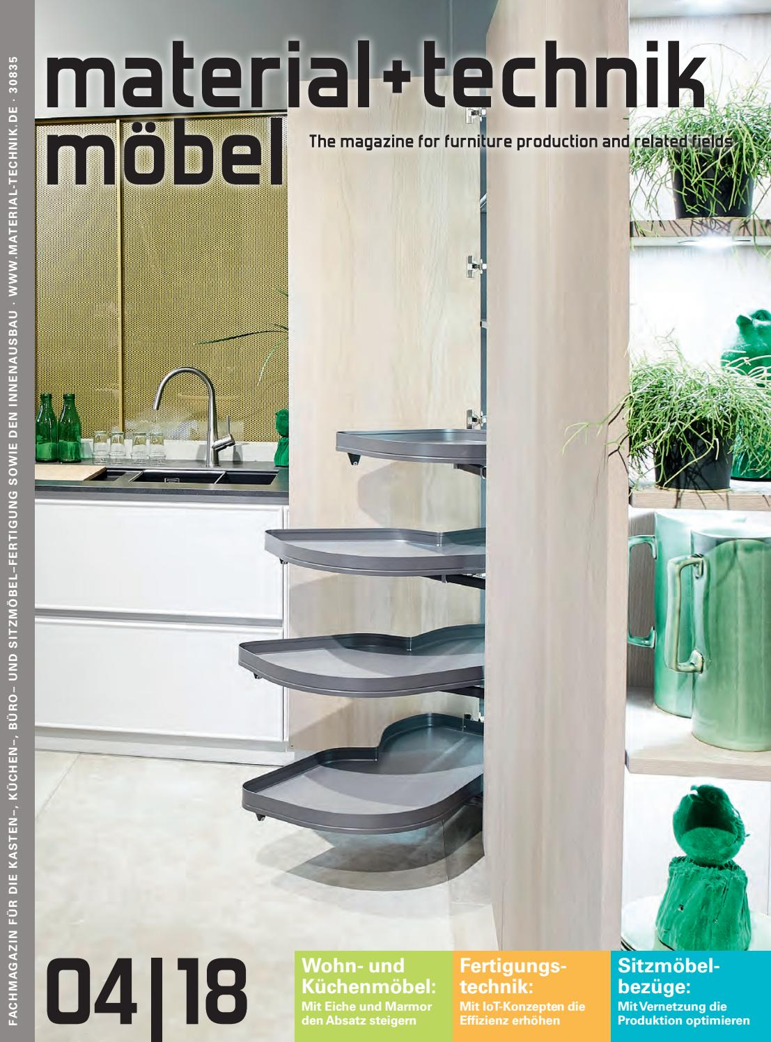 Material+technik Möbel Ausgabe 04/2018 By Material + Technik Möbel   Issuu