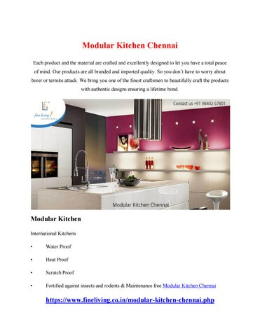 modular kitchen chennai by sankarprasad131 issuu