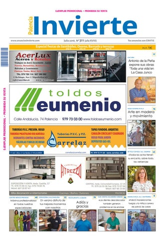 311 Julio 2018 by Periódicos Invierte Palencia - issuu 4b24d837e3cb