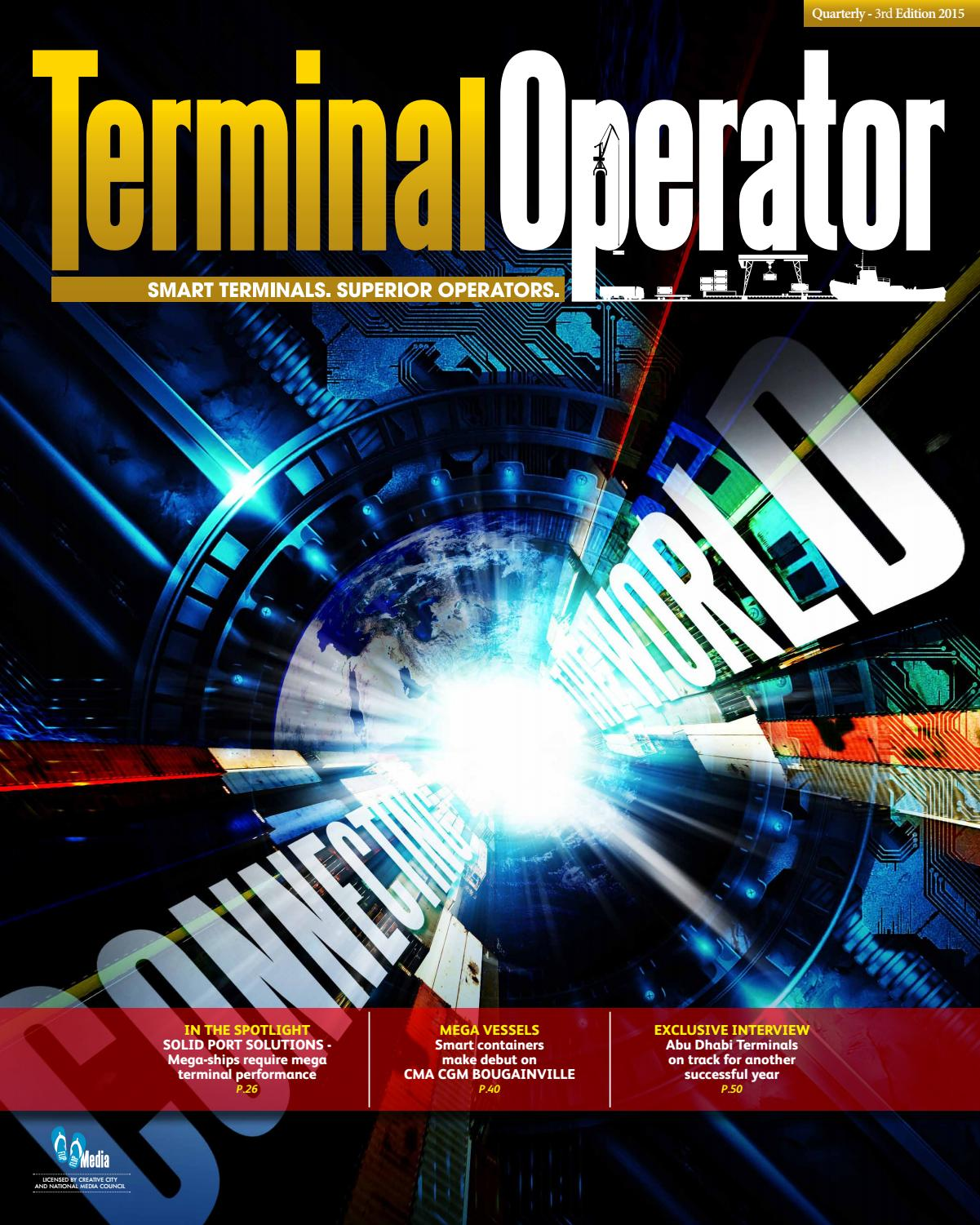 Terminal Operator - 3rd Edition by Mhar Delaben - issuu