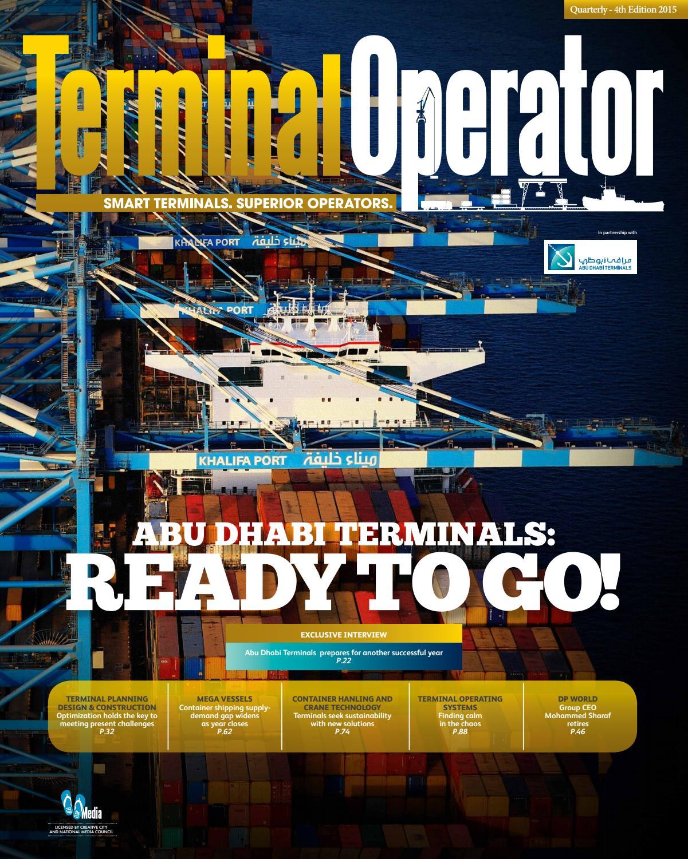 Terminal Operator - 4th Edition by Mhar Delaben - issuu