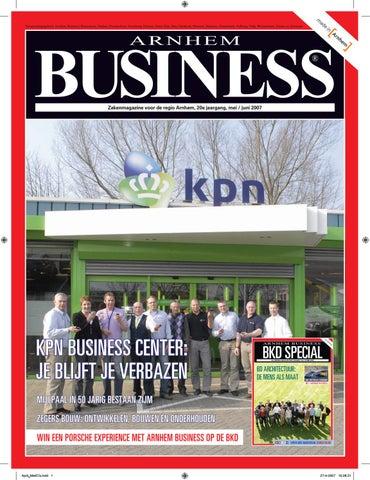 Mei Business 2007 Editie Issuu By 2 Arnhem EDYHIW29