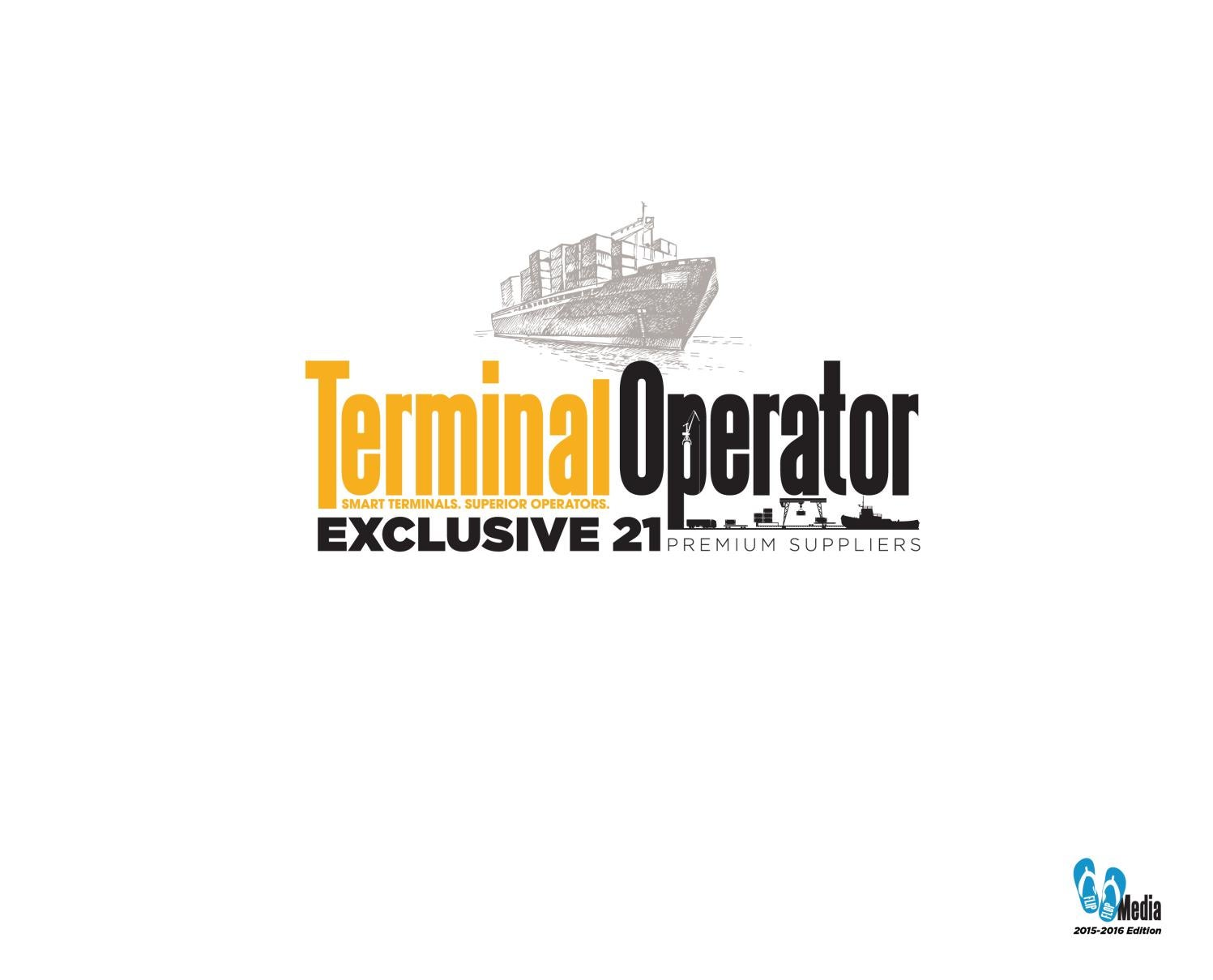 Terminal Operator Coffee Table Book - 2015/2016 Edition by