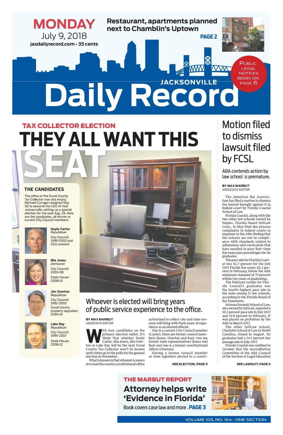 Jacksonville Daily Record 7918 By Daily Record Observer Llc Issuu