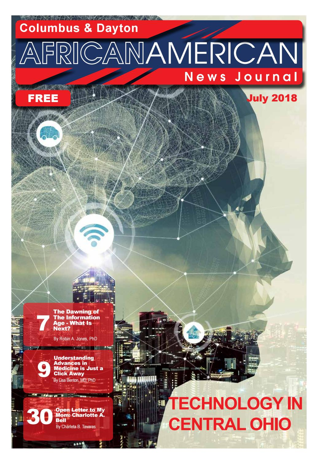 July 2018 Edition_The Columbus & Dayton African American by