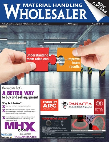 August 2018 Material Handling Wholesaler by Material