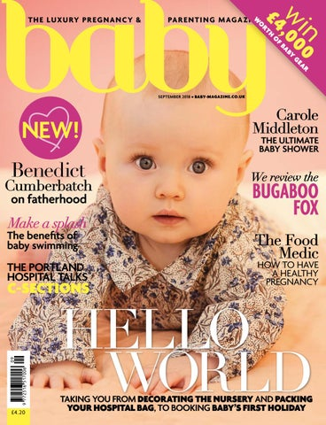 Baby September 2018 by The Chelsea Magazine Company - issuu