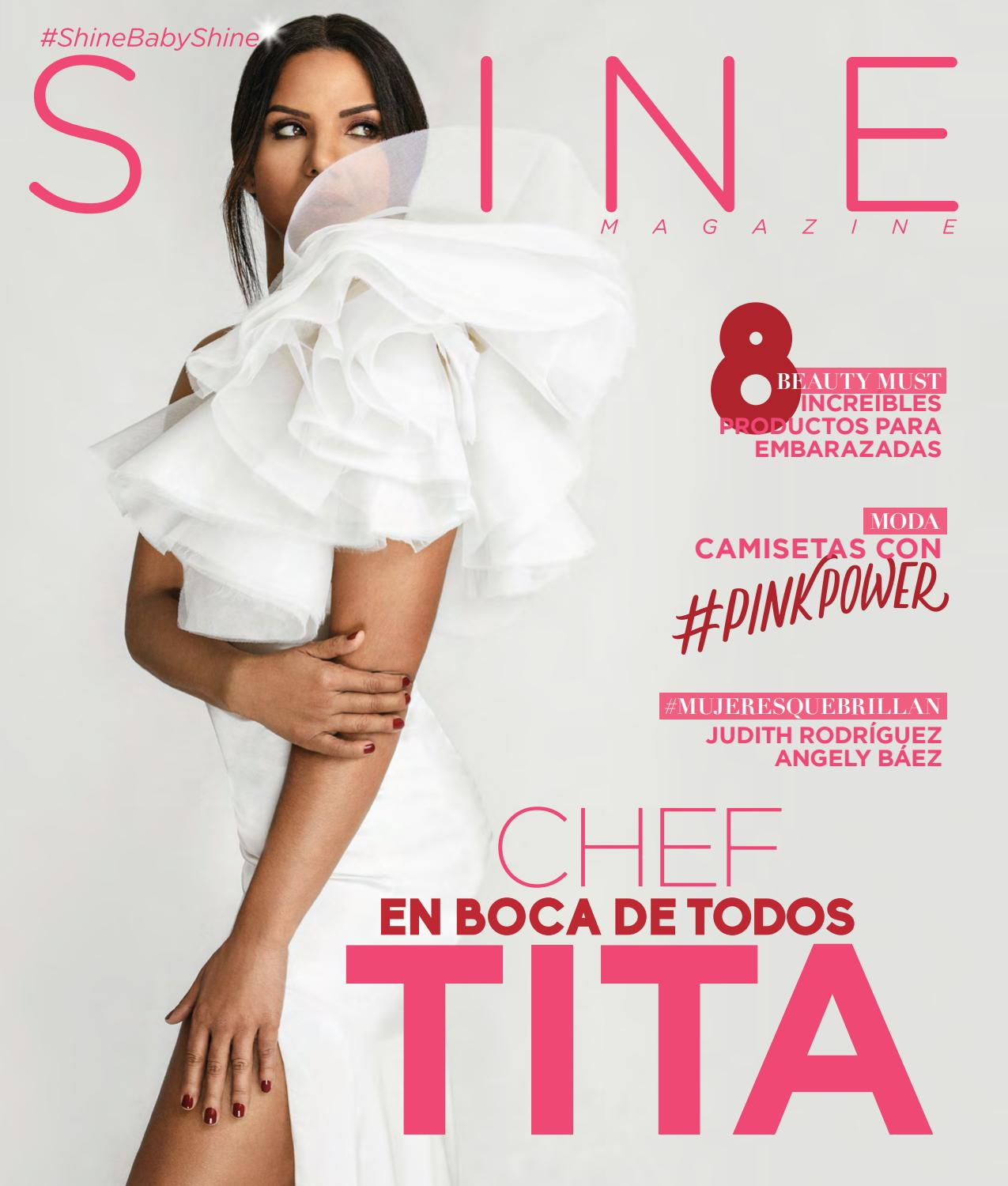 58b6d4983 Shine Magazine #25, Chef Tita en portada by ShineMagazineRD - issuu