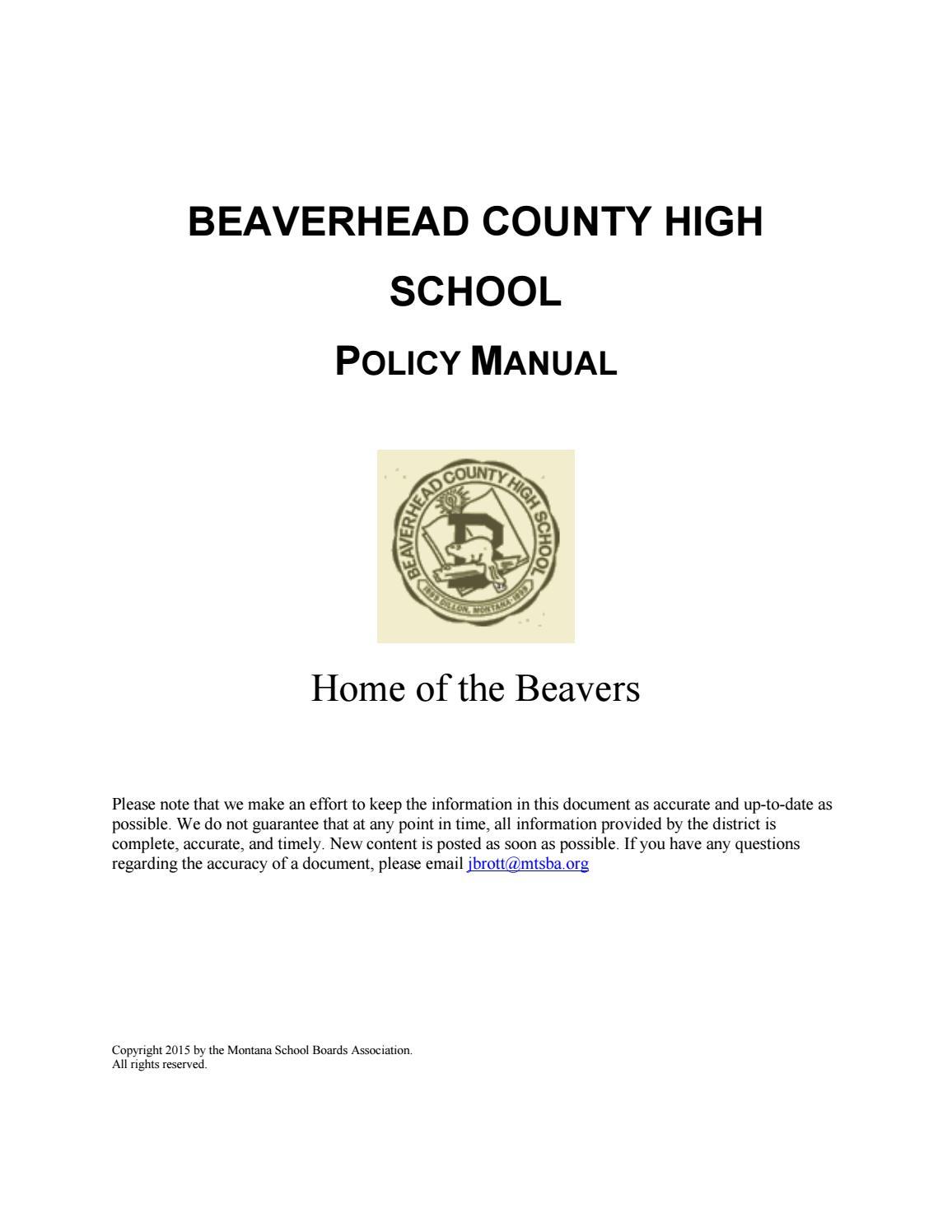 Beaverhead County High Policy Manual By Montana School Boards Fotos Recomended Stun Gun Circuit Diagram Association Issuu