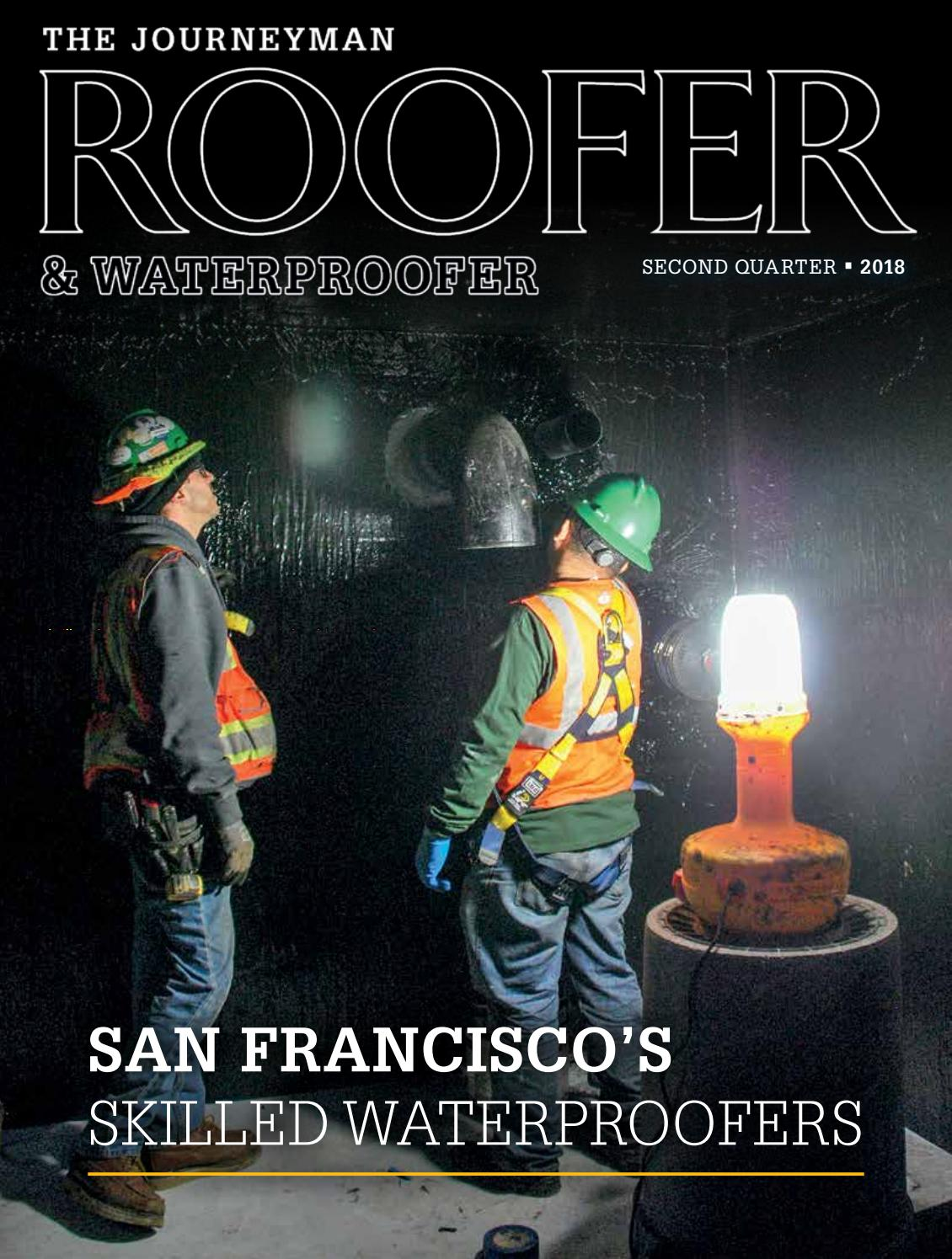 The Journeyman Roofer & Waterproofer 2nd Qtr 2018 by