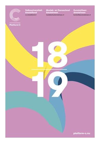 1ca80af3c64 Vu brochure 2018 2019 issuu by Hans van der Woerd - issuu