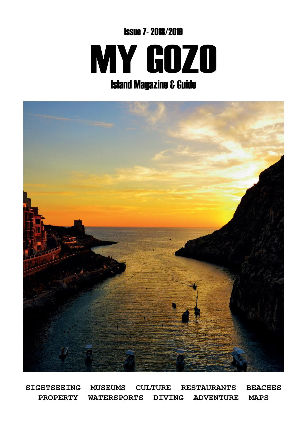 My Gozo Magazine 2018/19 by My Gozo - issuu