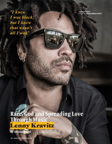 Page 22 of Beyond the Music with Lenny Kravitz