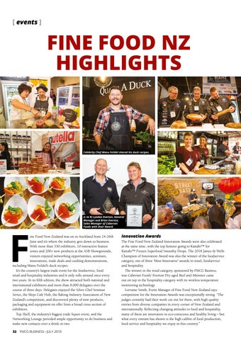 Page 32 of FINE FOODS NZ HIGHLIGHTS