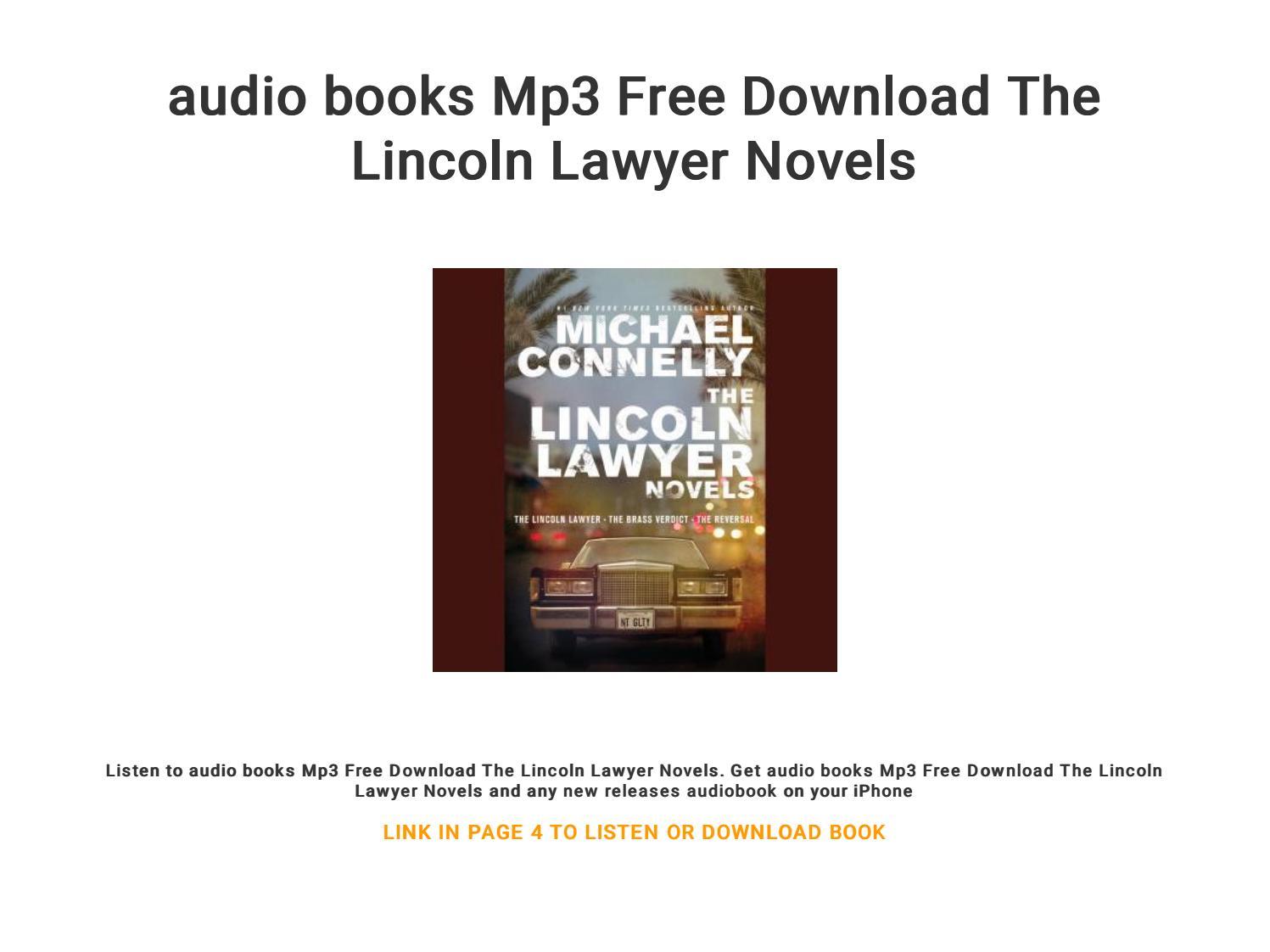 audio books free download