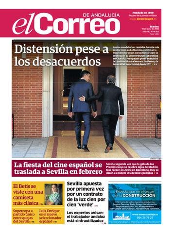339706340021c 10.07.2018 El Correo de Andalucía by EL CORREO DE ANDALUCÍA S.L. - issuu