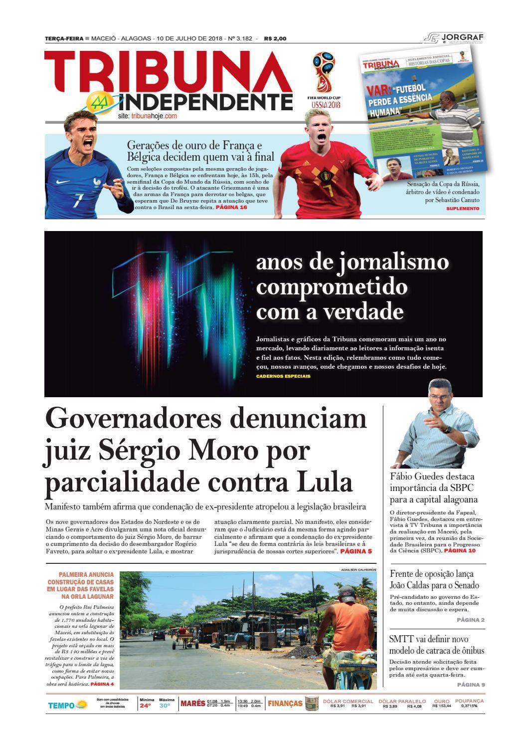 Edição número 3182 - 10 de julho de 2018 by Tribuna Hoje - issuu cba1b3bbc54cd