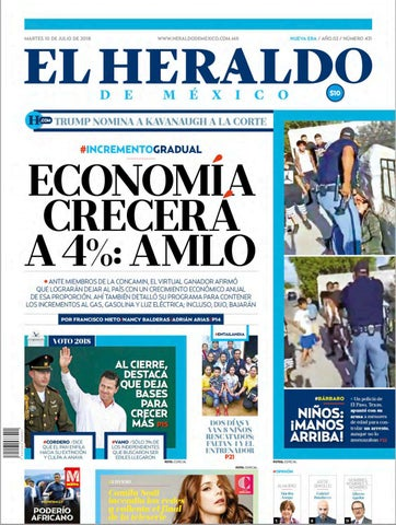 10 de julio 2018 by El Heraldo de México - issuu 29fe821dae71f